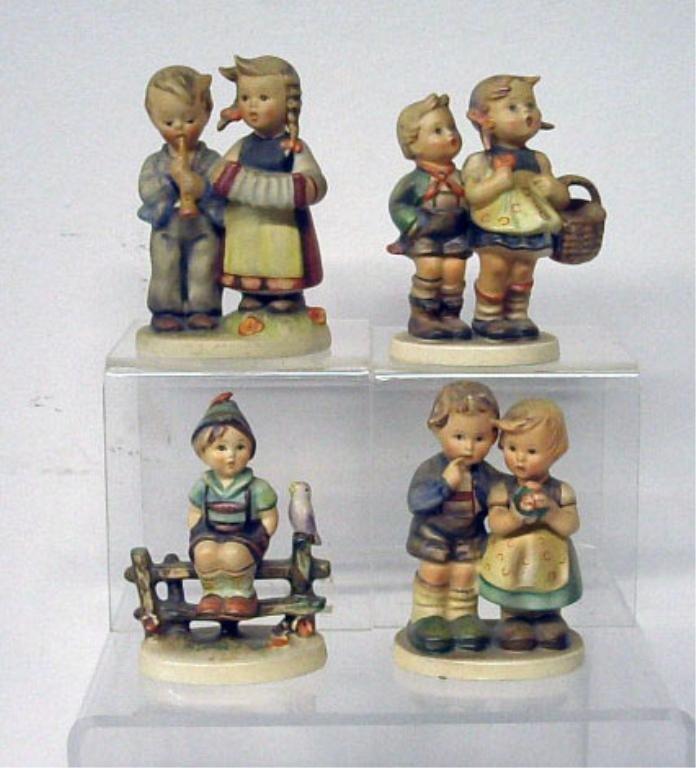 2008: Four Hummel Figurines