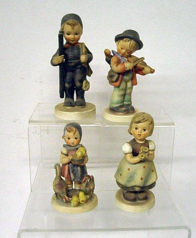 2009: Four Hummel Figurines