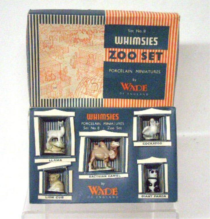 2011: Wade Porcelain Whimsies Zoo Set
