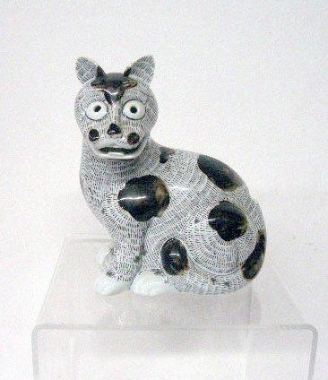 2012: Mottahedeh Porcelain Cat Night Lamp