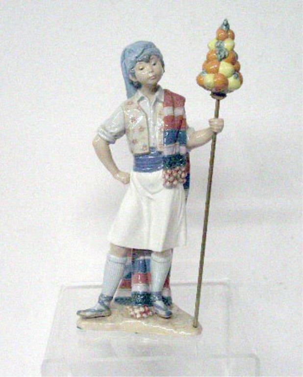 2014: Lladro Porcelain Valencian Boy Figurine