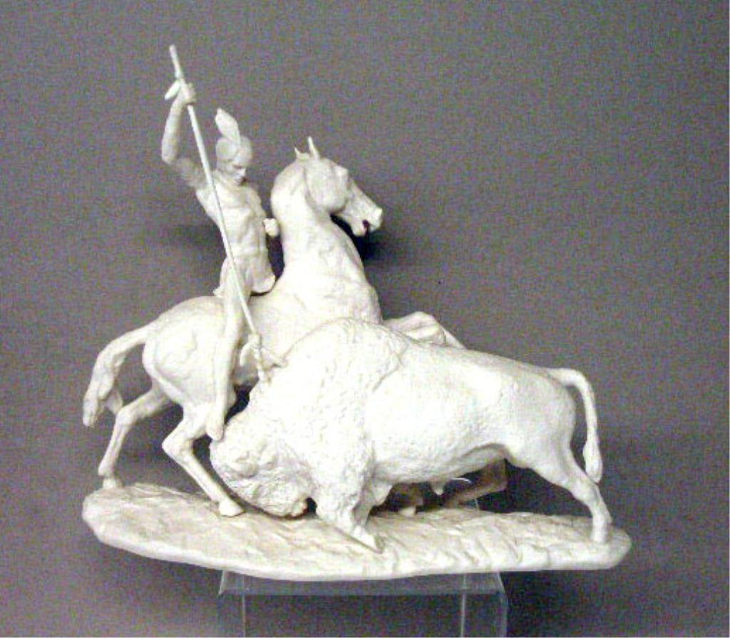 2017: Laszlo Ispanky Porcelain The Hunt Figurine