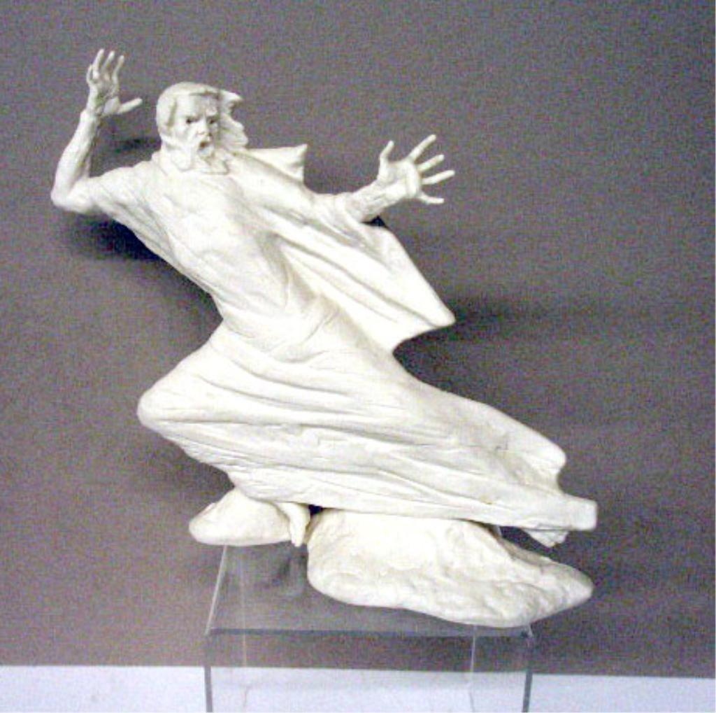 2018: Laszlo Ispanky Porcelain Storm Figurine