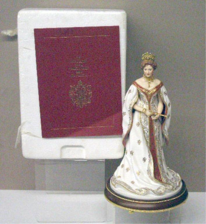 2019: Franklin Mint Porcelain Empress Alexandra