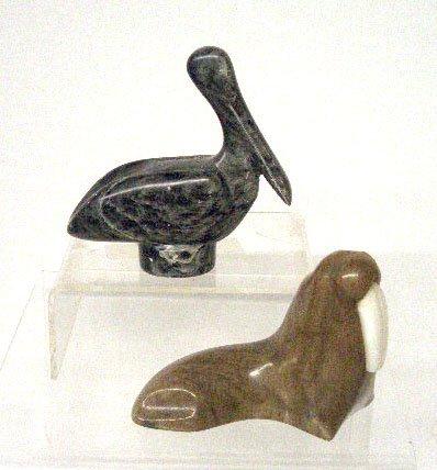 2020: Contemporary Alaska Inuit Stone Carvings
