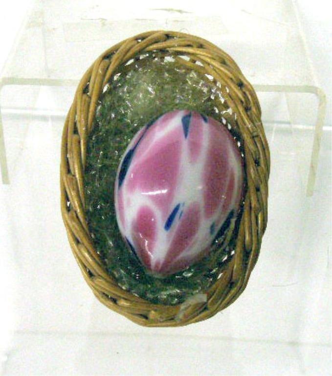 2024: Victorian Glass Easter Egg