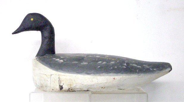2197: Antique Wood Duck Decoy
