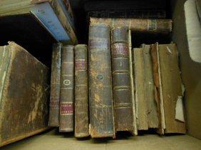 1000: Assorted 18th/19th C. American/European Books