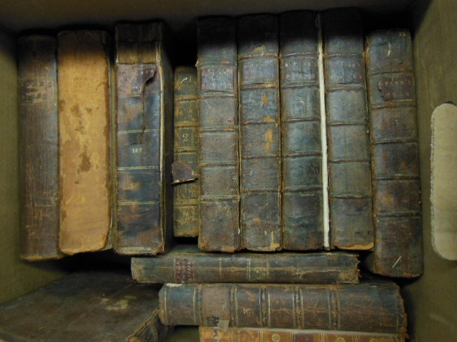 1001: Assorted 18th/19th C. American/European Books