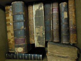 1002: Assorted 18th /19th C. American/European Books