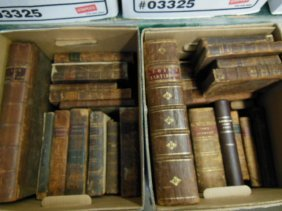 1003: Assorted 18th/19th C. American/European Books