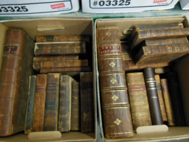 1003: Assorted 18th/19th C. American/European Books