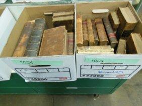 1004: Assorted 18th/19th C. American/European Books
