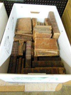 1005: Assorted 18th/19th C. American/European Books