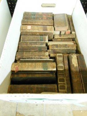 1006: Assorted 18th/19th C. American/European Books