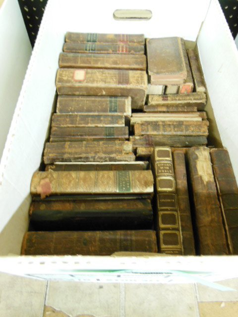 1006: Assorted 18th/19th C. American/European Books