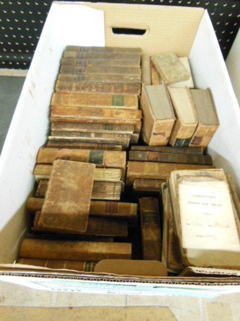 1007: Assorted 19th C. American/European Books
