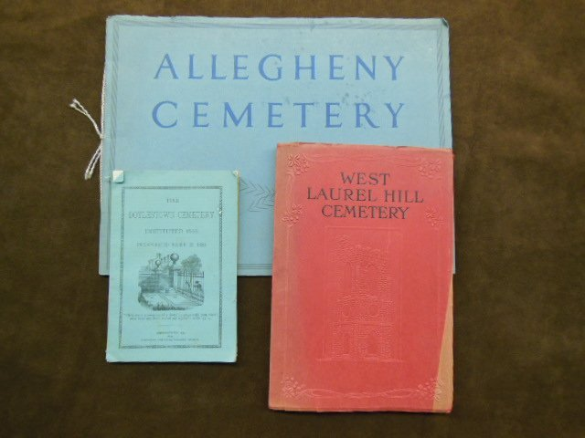 1016: Pennsylvania Cemetery History Booklets