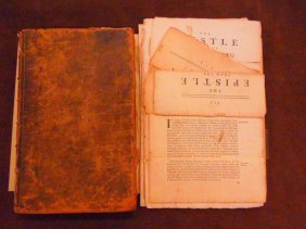 1021: Epistles From The Yearly Meeting of Quakers