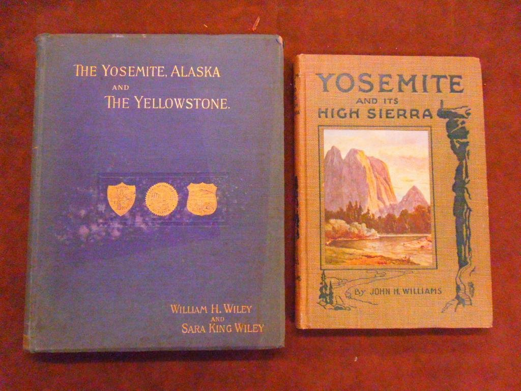 1022: Wiley, The Yosemite, Alaska, Yellowstone, 1893
