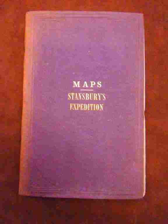 Maps. Stansbury's Expedition