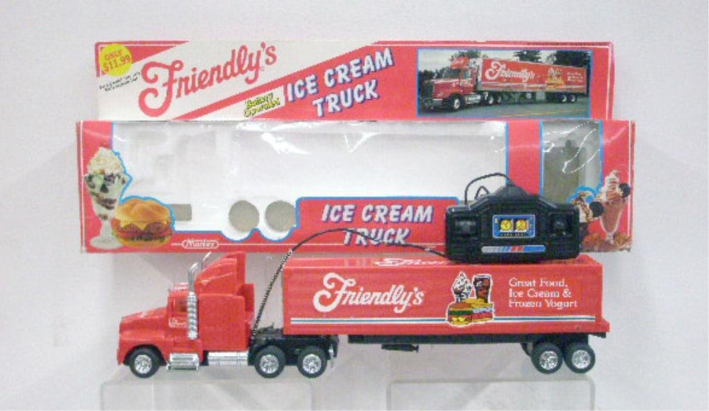 1: Battery Operated Friendly's Ice Cream Truck