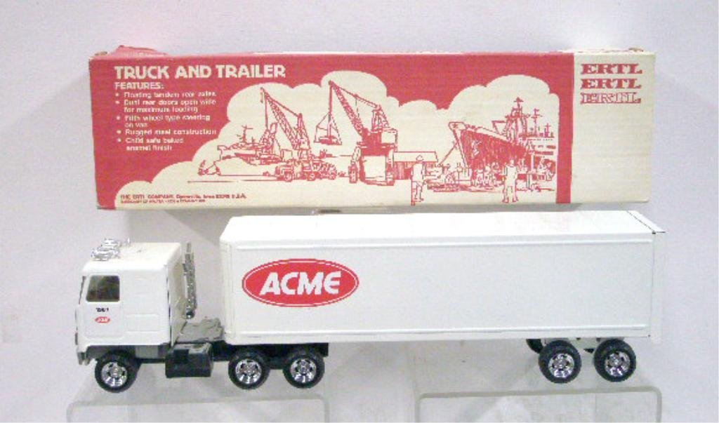 3: Ertl Pressed Steel Acme Supermarket Truck