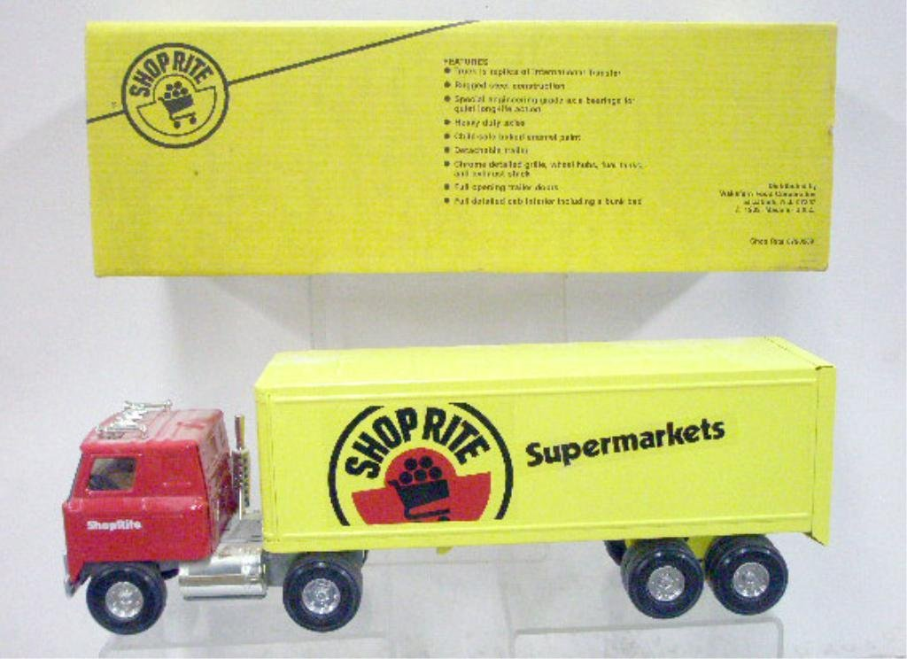 4: Ertl Pressed Steel Shop Rite Truck