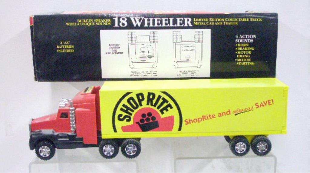 5: Battery Operated Shop Rite Supermarket Truck