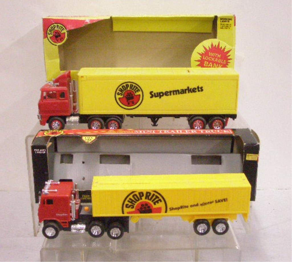 6: Battery Operated Shop Rite Supermarket Trucks