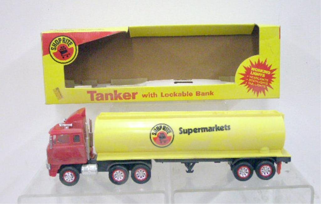 7: Battery Operated Shop Rite Truck Bank