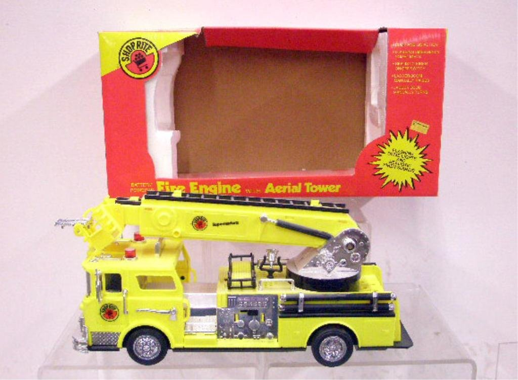 9: Battery Operated Shop Rite Fire Engine
