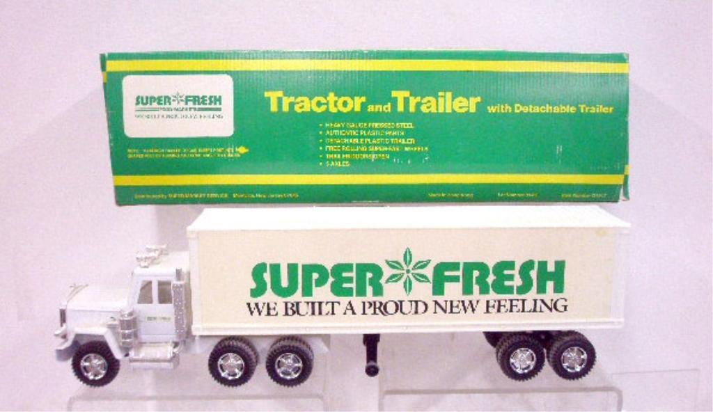 10: Pressed Steel & Plastic Super Fresh Truck