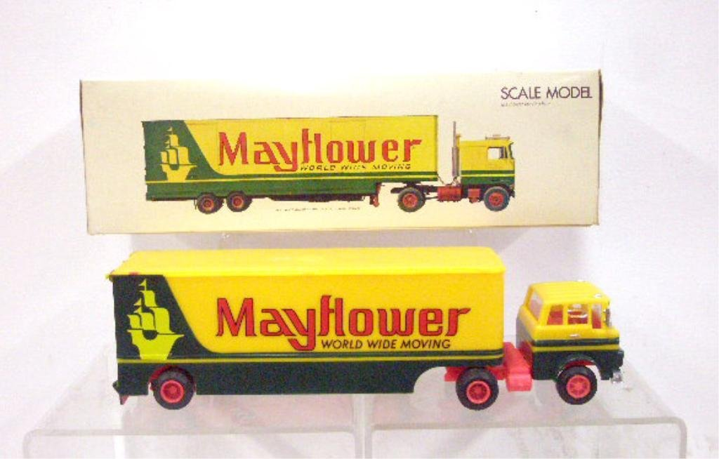 13: 1960's/1970's Mayflower Moving Van