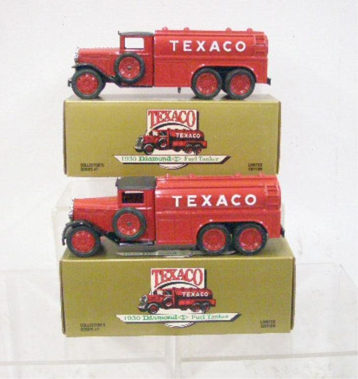 18: Ertl Die Cast Texaco Truck Banks
