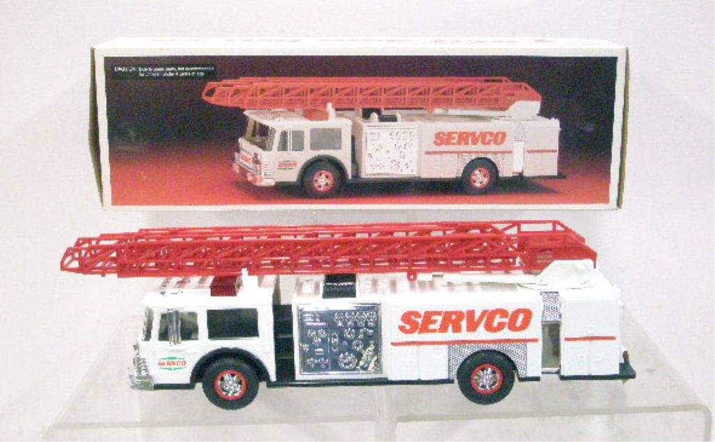 20: 1990 Servco Gasoline Fire Truck Bank