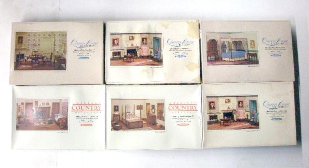 84: Realife Miniatures Dollhouse Furniture Kits