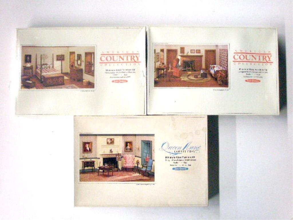 84: Realife Miniatures Dollhouse Furniture Kits - 3