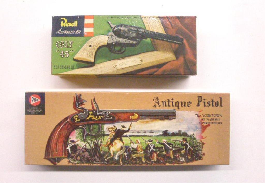 341: 1950's Toy Gun Model Kits