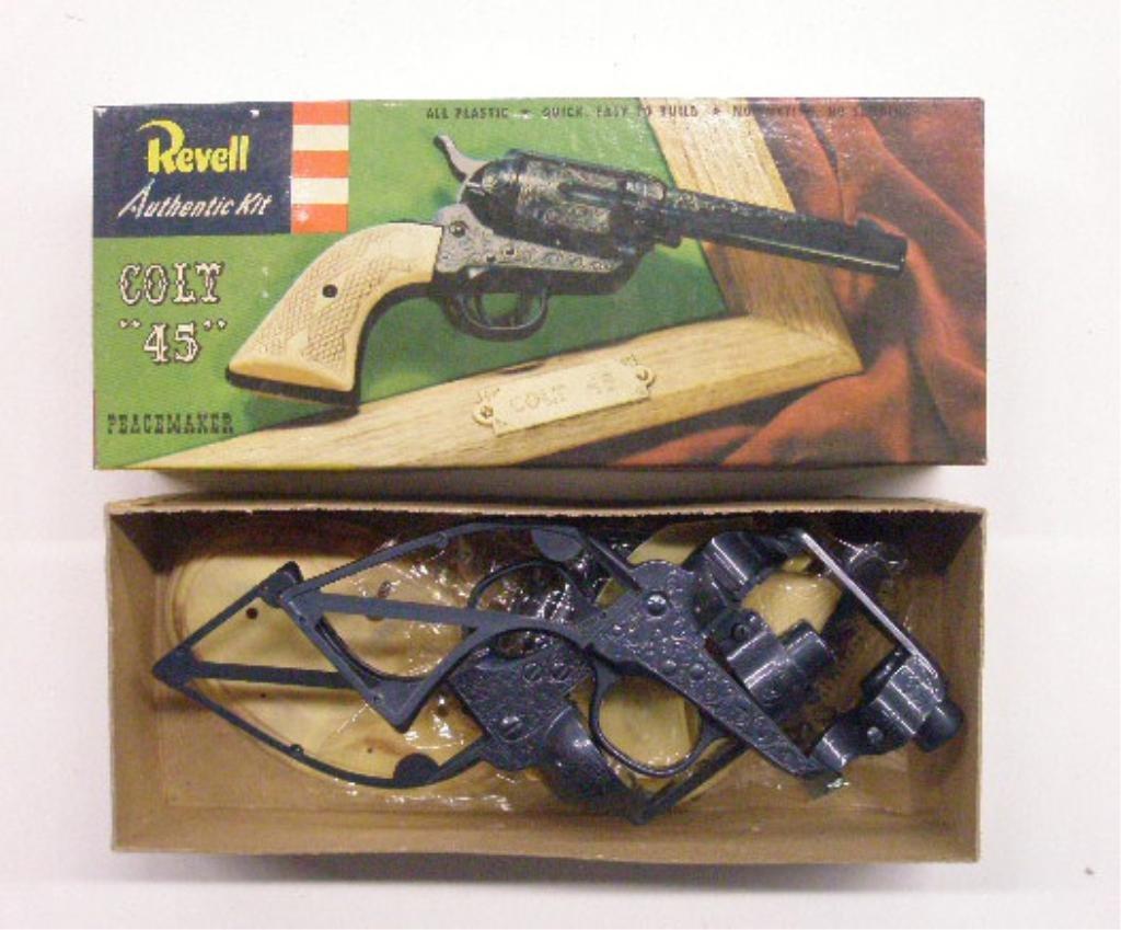341: 1950's Toy Gun Model Kits - 2