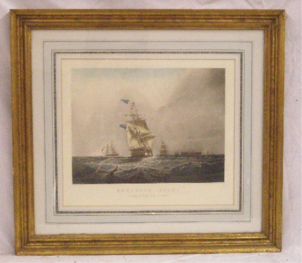 19th c. Ship Engraving
