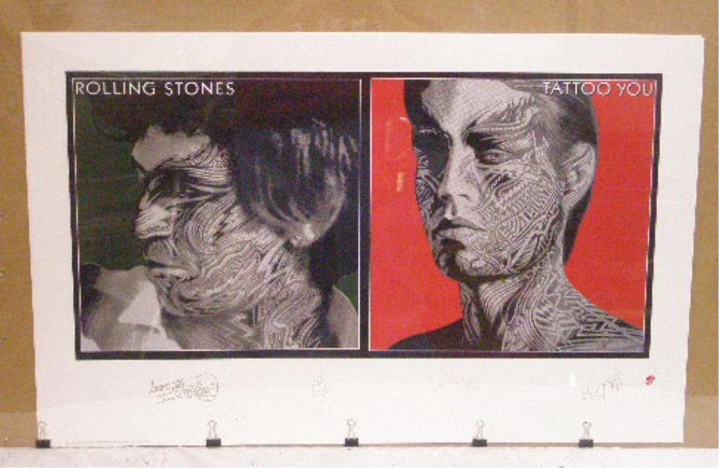 Rolling Stones Tattoo You Posters