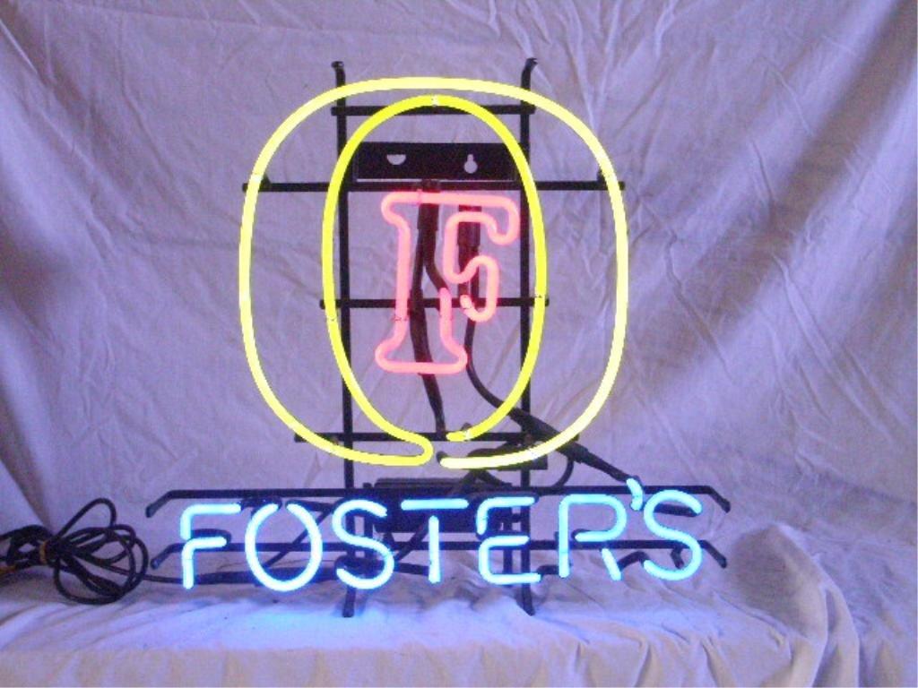 Fosters Beer Neon Sign