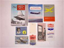 Vintage United Airlines Ephemera