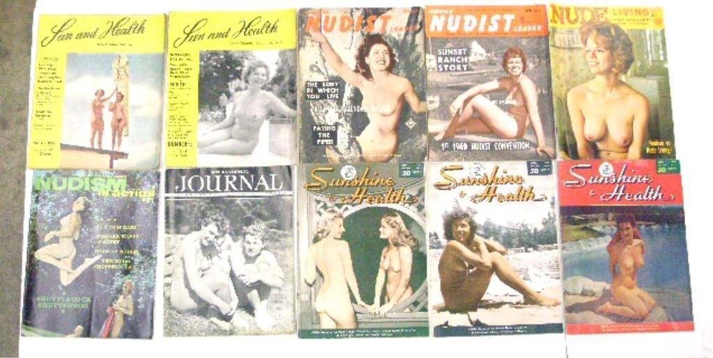 1950's & 1960's Nudist Magazines