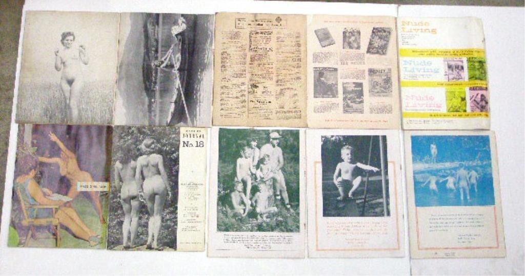 1950's & 1960's Nudist Magazines - 2