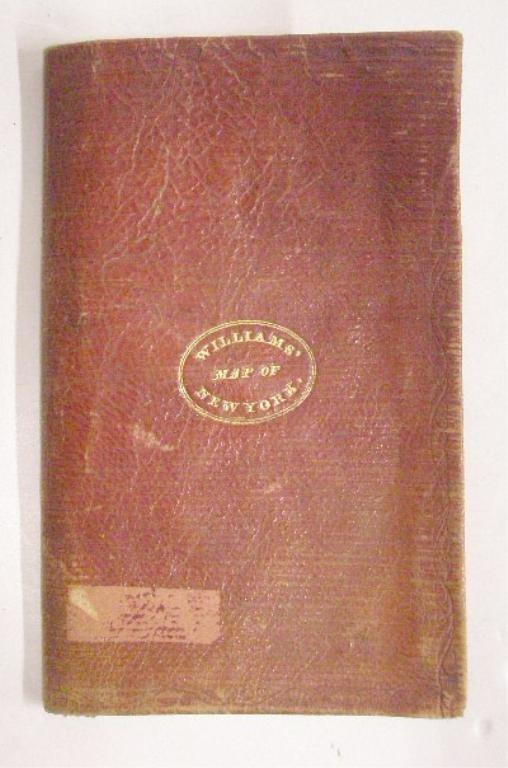 1829 Tourist Map of New York