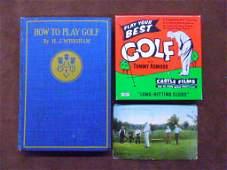 19th & 20th c. Golf Memorabilia