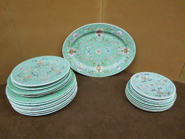 Chinese Porcelain Partial Dinner set