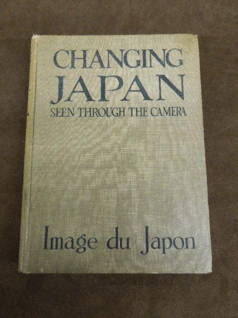 """Georges Alsot """"Changing Japan"""" Book"""